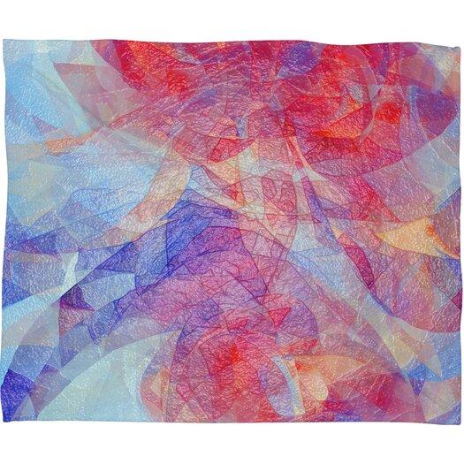 DENY Designs Jacqueline Maldonado Sweet Rift Polyester Fleece Throw Blanket