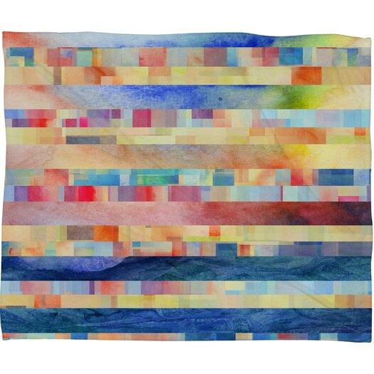 DENY Designs Jacqueline Maldonado Amalgama Polyester Fleece Throw Blanket