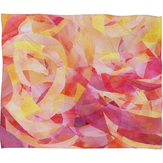 DENY Designs Jacqueline Maldonado Concentric Polyester Fleece Throw Blanket