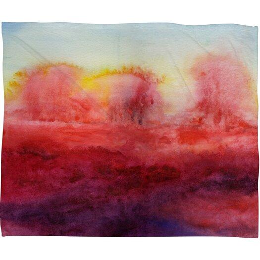 DENY Designs Jacqueline Maldonado Where I End Polyester Fleece Throw Blanket