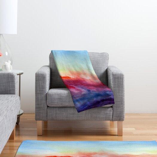 DENY Designs Jacqueline Maldonado Arpeggi Polyester Fleece Throw Blanket
