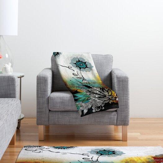 DENY Designs Iveta Abolina Frozen Dreams Polyester Fleece Throw Blanket