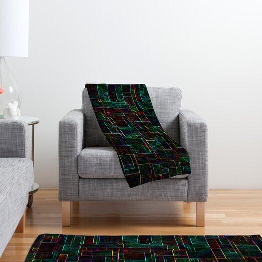 DENY Designs Jacqueline Maldonado Matrix Polyester Fleece Throw Blanket
