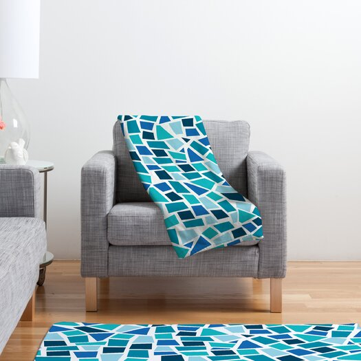 DENY Designs Khristian A Howell Baby Beach Bum 6 Polyester Fleece Throw Blanket