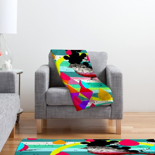 DENY Designs Randi Antonsen Luns Box 4 Polyester Fleece Throw Blanket