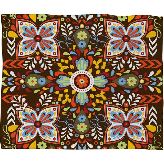 DENY Designs Khristian A Howell Wanderlust Polyester Fleece Throw Blanket