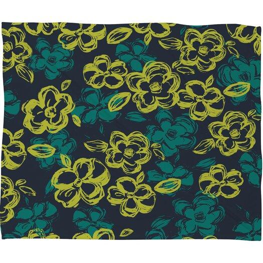 DENY Designs Khristian A Howell Russian Ballet 1 Polyester Fleece Throw Blanket