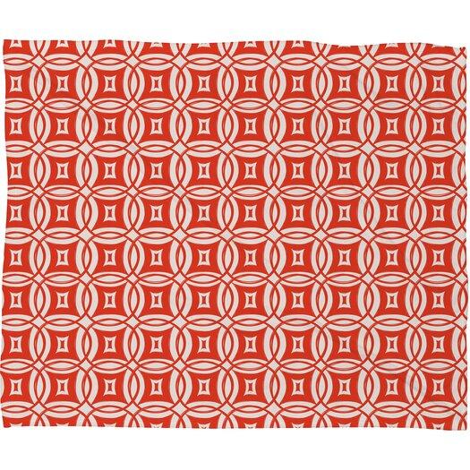 DENY Designs Khristian A Howell Desert Twilight 9 Polyester Fleece Throw Blanket