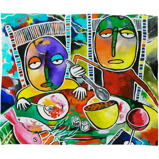 DENY Designs Robin Faye Gates I Should Give Relish A Try Polyester Fleece Throw Blanket