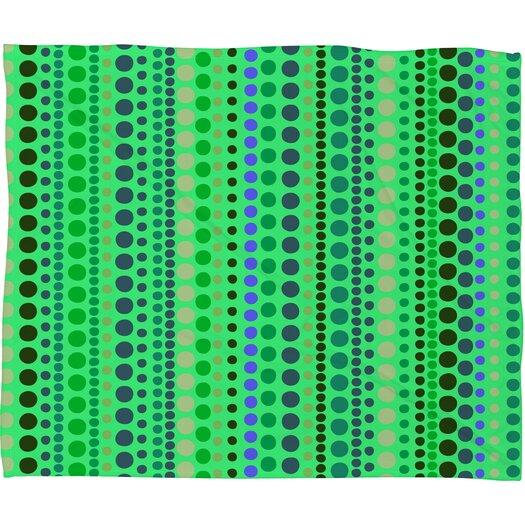 DENY Designs Romi Vega Retro Polyester Fleece Throw Blanket