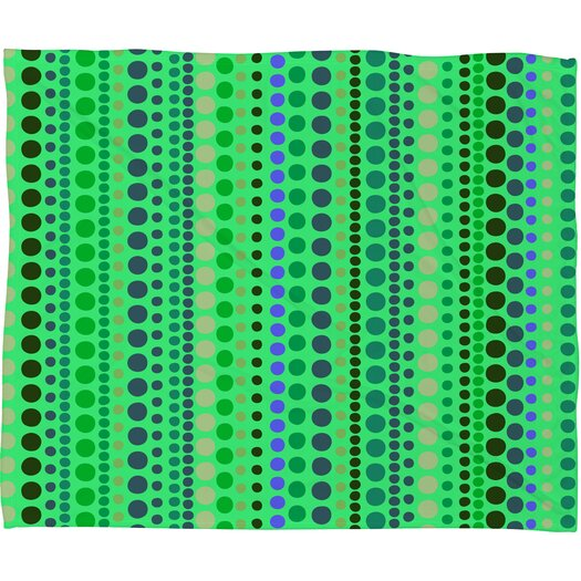 DENY Designs Romi Vega Retro Polyester Fleece Throw Blanket