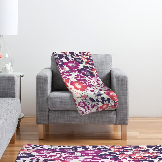 DENY Designs Khristian A Howell Provencal Lavender 2 Fleece Throw Blanket
