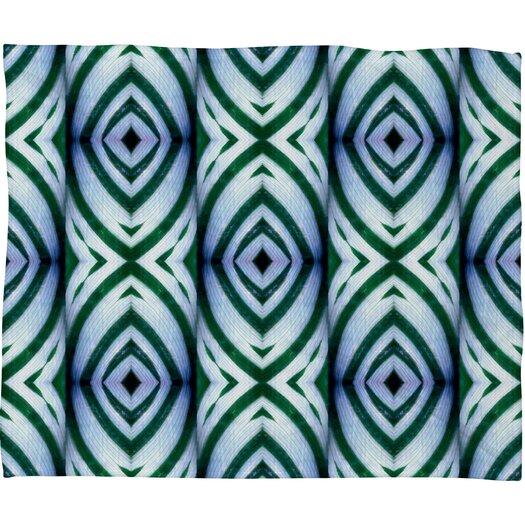 DENY Designs Wagner Campelo Maranta Polyester Fleece Throw Blanket