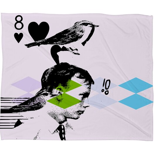 DENY Designs Randi Antonsen Poster Hero 2 Polyester Fleece Throw Blanket