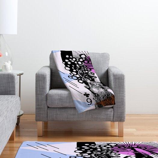 DENY Designs Randi Antonsen Poster Hero 3 Polyester Fleece Throw Blanket