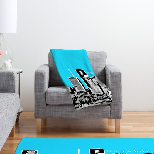 DENY Designs Bird Ave Houston Polyester Fleece Throw Blanket