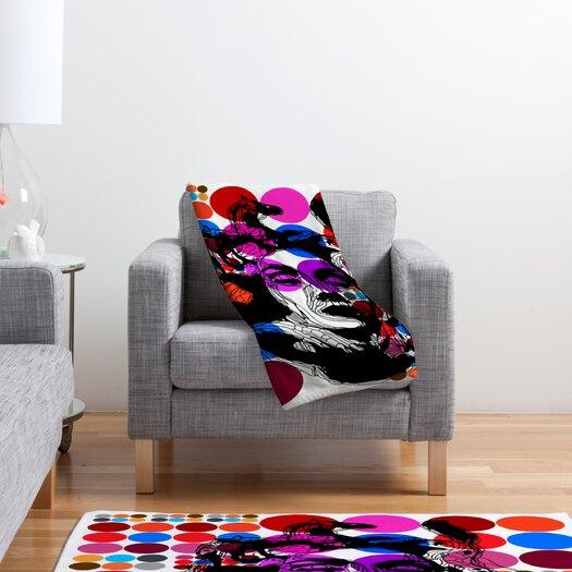 DENY Designs Randi Antonsen Poster Heroins 6 Polyester Fleece Throw Blanket