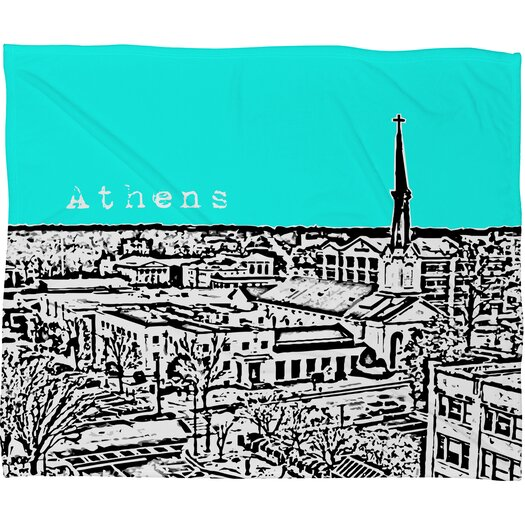 DENY Designs Bird Ave Athens Polyester Fleece Throw Blanket