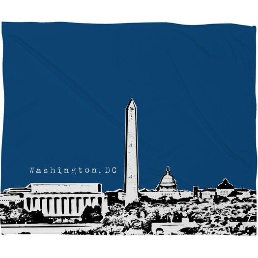 DENY Designs Bird Ave Washington Polyester Fleece Throw Blanket