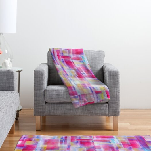 DENY Designs Jacqueline Maldonado Space Between Polyester Fleece Throw Blanket