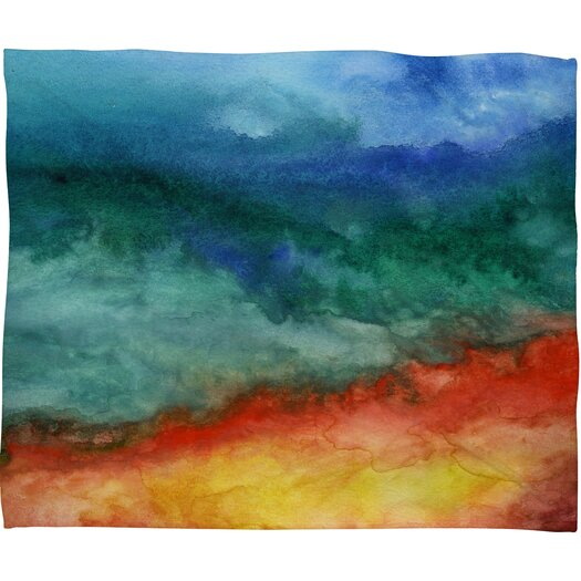 DENY Designs Jacqueline Maldonado Leaving California Polyester Fleece Throw Blanket