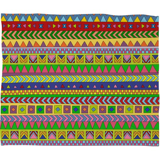 DENY Designs Bianca Green Forever Young Polyester Fleece Throw Blanket