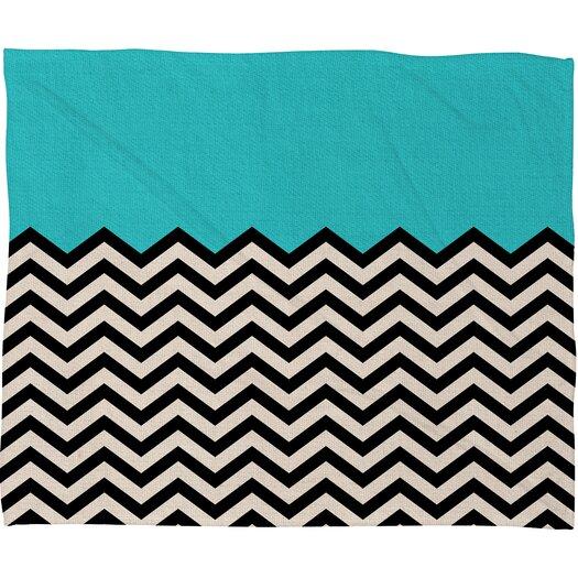 DENY Designs Bianca Green Polyester Fleece Throw Blanket