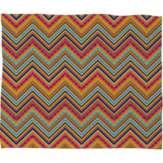 DENY Designs Amy Sia Tribal Chevron Polyester Fleece Throw Blanket