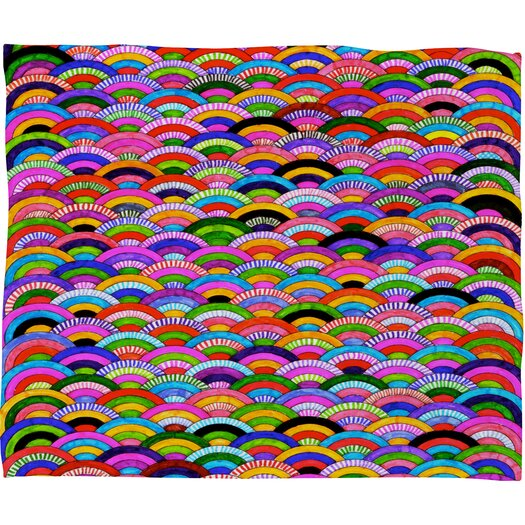 DENY Designs Fimbis A Good Day Polyester Fleece Throw Blanket