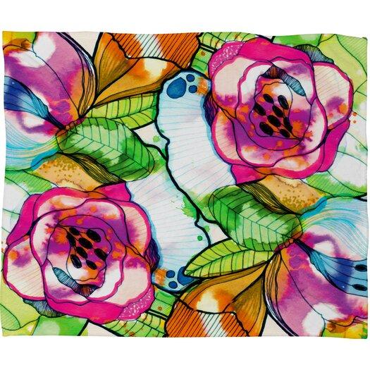 DENY Designs CayenaBlanca Polyester Fleece Throw Blanket
