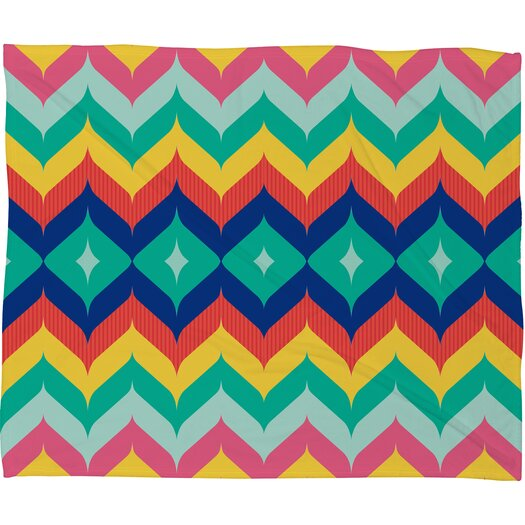 DENY Designs Juliana Curi Polyester Fleece Throw Blanket