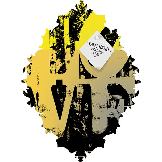 DENY Designs Amy Smith Philadelphia Love Baroque Memo Board