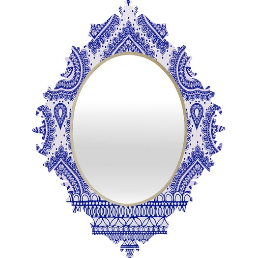DENY Designs Aimee St Hill Decorative Quatrefoil Mirror
