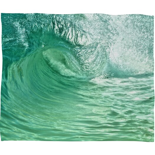 DENY Designs Lisa Argyropoulos within the Eye Polyesterrr Fleece Throw Blanket