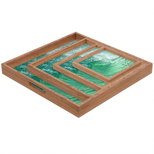 DENY Designs Lisa Argyropoulos within the Eye Square Tray