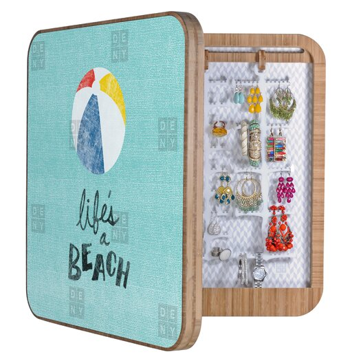 DENY Designs Nick Nelson Lifes A Beach Jewelry Box