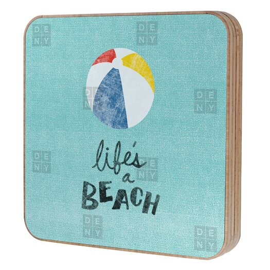 DENY Designs Nick Nelson Lifes A Beach Jewelry Box Replacement Cover