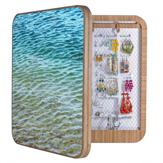 DENY Designs Shannon Clark Ombre Sea Jewelry Box