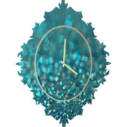 DENY Designs Lisa Argyropoulos Aquios Wall Clock