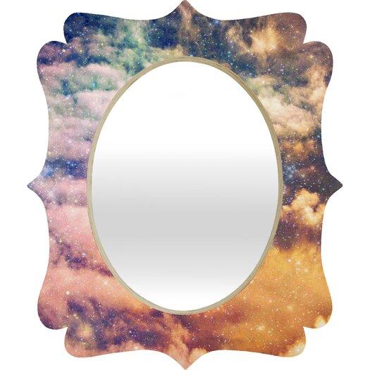 DENY Designs Shannon Clark Cosmic Quatrefoil Mirror
