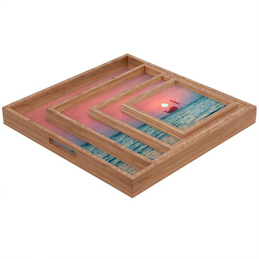 DENY Designs Belle 13 Fancy Pet Square Tray