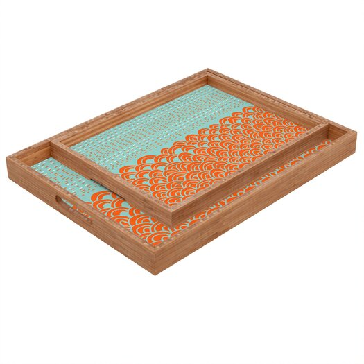 DENY Designs Budi Kwan The Infinite Tidal Rectangular Tray
