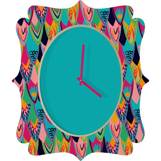 DENY Designs Vy La Love Bird Wall Clock