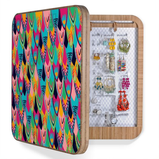 DENY Designs Vy La Love Birds 1 Blingbox Replacement Cover Accessory Box