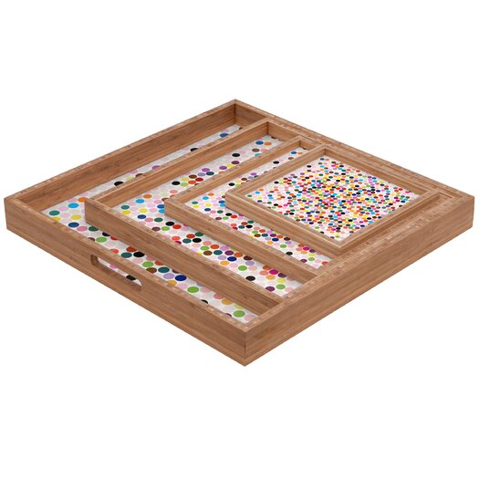 DENY Designs Garima Dhawan Dance 3 Square Tray