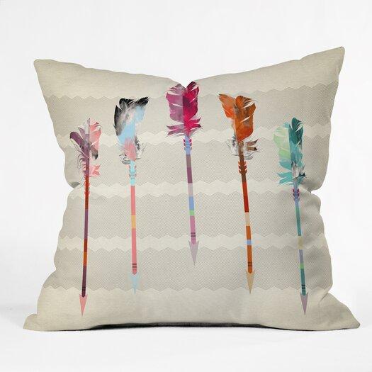 DENY Designs Iveta Abolina Feathered Arrows Throw Pillow