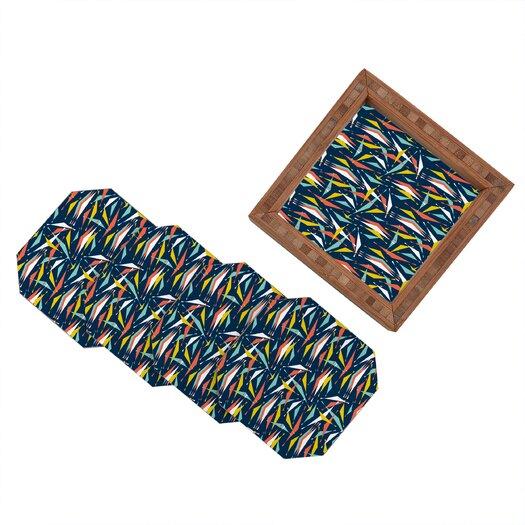 DENY Designs Heather Dutton Swizzlestick Party Girl Coaster