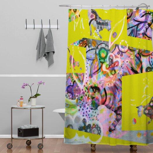 DENY Designs Randi Antonsen Polyester Cats 4 Shower Curtain