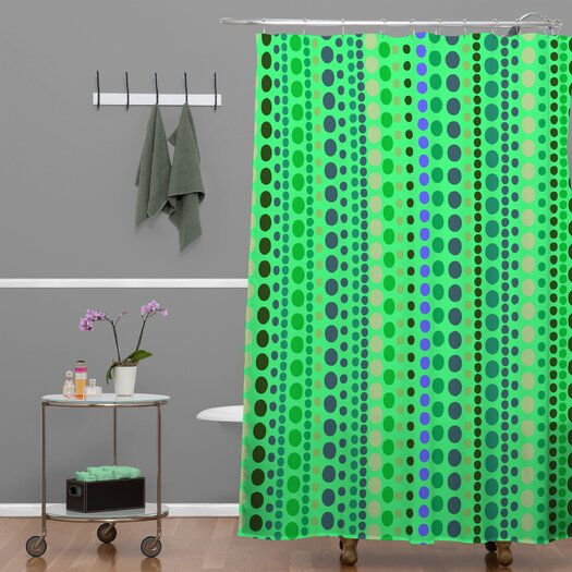 DENY Designs Romi Vega Polyester Retro Shower Curtain