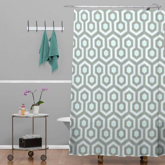 DENY Designs Caroline Okun Icicle Shower Curtain